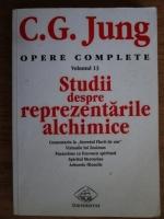 Carl Gustav Jung - Opere complete, volumul 13. Studii despre reprezentarile alchimice