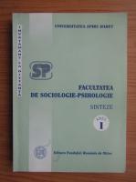 Carmen Furtuna - Facultatea de sociologie-psihologie, sinteze