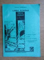 Anticariat: Carmen Iordachescu - Limba romna. Fonetica si vocabular