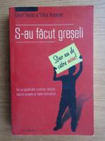 Anticariat: Carol Tavris - S-au facut greseli