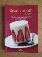 Anticariat: Caroline Bach - Desserts minceur