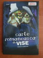 Anticariat: Carte romaneasca de vise