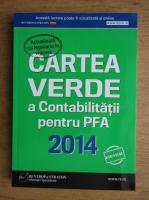 Anticariat: Cartea verde a contabilitatii pentru PFA 2014