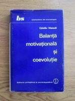 Anticariat: Catalin Mamali - Balanta motivationala si coevolutie