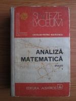 Anticariat: Catalin-Petru Nicolescu - Analiza matematica. Aplicatii (volumul 1)