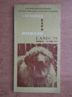 Catalogul expozitiei canine republicane