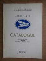 Catalogul expozitiei filatelice tripartite Bucuresti, Belgrad, Paris