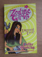 Anticariat: Cathy Hopkins - Zodiac girls. Discount diva