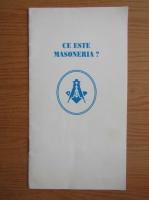 Anticariat: Ce este masoneria?