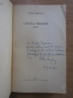 Cella Serghi - Cartea Mironei (cu autograful autoarei)