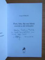 Anticariat: Cezar Parlog - Flori, fete, fite sau baieti (cu autograful autorului)