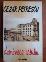 Cezar Petrescu - Duminica orbului