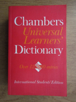 Anticariat: Chambers universal learner's dictionary