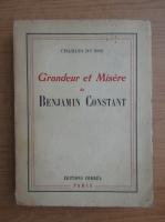 Anticariat: Charles du Bos - Grandeur et misere (1946)