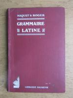 Charles Maquet - Grammaire latine (1923)
