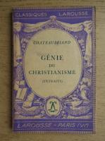 Chateaubriand - Genie du christianisme (1936)