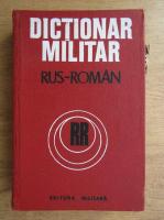 Anticariat: Checiches Laurentiu - Dictionar militar rus-roman