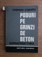 Chimon Capatu - Poduri pe grinzi de beton. Suprastructura