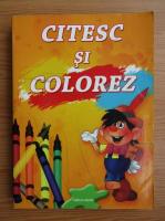 Anticariat: Citesc si colorez