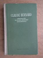 Claude Bernard - Introducere in studiul medicinii experimentale