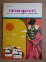 Claudia Samoila - Limba spaniola, manual pentru clasa a VI-a, anul V de studiu, prima limba moderna (1975)