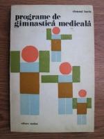 Clement Baciu - Programe de gimnastica medicala