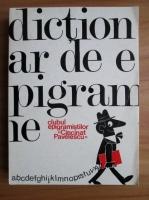 Anticariat: Clubul Epigramistilor Cincinat Pavelescu - Dictionar de Epigrame