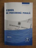 Anticariat: Codul de procedura penala (2013)
