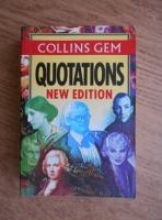 Collins Gem - Quotations