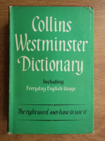Anticariat: Collins Westminster dictionary including everyday english usage