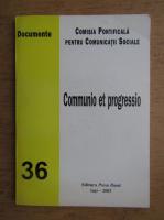 Anticariat: Communio et progressio, nr. 36