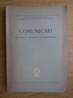 Comunicari, sectiunea de neurologie si endocrinologie