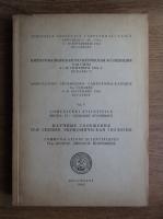 Comunicari stiintifice, Sectia IV, Geologie economica