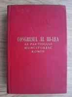 Anticariat: Congresul al III-lea al Partidului Muncitoresc Roman (20-25 iunie 1960)