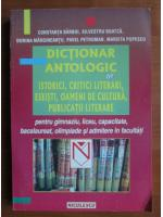 Constanta Barboi - Dictionar antologic de Istorici, critici literari, eseisti, oameni de cultura, publicatii literare