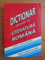 Anticariat: Constanta Barboi - Dictionar antologic de literatura romana (volumul 1)