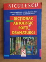 Anticariat: Constanta Barboi - Dictionar antologic de poeti si dramaturgi