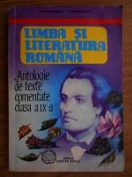 Anticariat: Constanta Barboi - Limba si literatura romana. Antologie de texte comentate clasa a IX-a