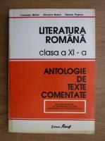 Anticariat: Constanta Barboi - Literatura romana, clasa a XI-a