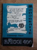 Anticariat: Constanta Giuca - Baicoi 400