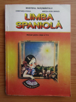 Anticariat: Constanta Stoica - Limba spaniola, clasa a V-a