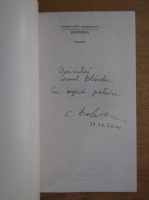 Anticariat: Constantin Ardeleanu - Haituirea. Teatru (cu autograful autorului)