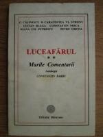Anticariat: Constantin Barbu - Luceafarul. Marile comentarii (volumul 2)
