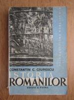 Anticariat: Constantin C. Giurescu - Istoria romanilor (volumul 1,1942)