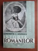 Constantin C. Giurescu - Istoria Romanilor (volumul 2, partea I), editia IV (1943)