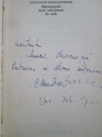Constantin Constantinescu - Marturisirile unui colectionar de arta (cu autograful autorului)