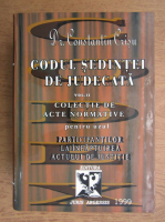 Constantin Crisu - Codul sedintei de judecata (volumul 2)