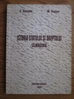 Constantin Diaconu, M. Simion - Istoria statului si dreptului. Sclavagismul
