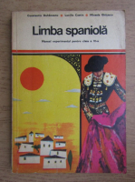 Constantin Duhaneanu - Limba spaniola, manual experimental pentru clasa a VI-a (1972)