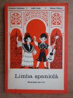 Constantin Duhaneanu, Luciliu Costin - Limba spaniola. Manual pentru clasa a II-a (1976)